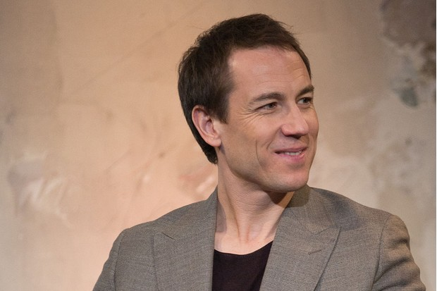 "NEW YORK, NEW YORK - APRIL 07: Tobias Menzies discusses ""Outlander"" at AOL Studios In New York on April 7, 2016 in New York City. (Photo by Adela Loconte/WireImage, BA)"