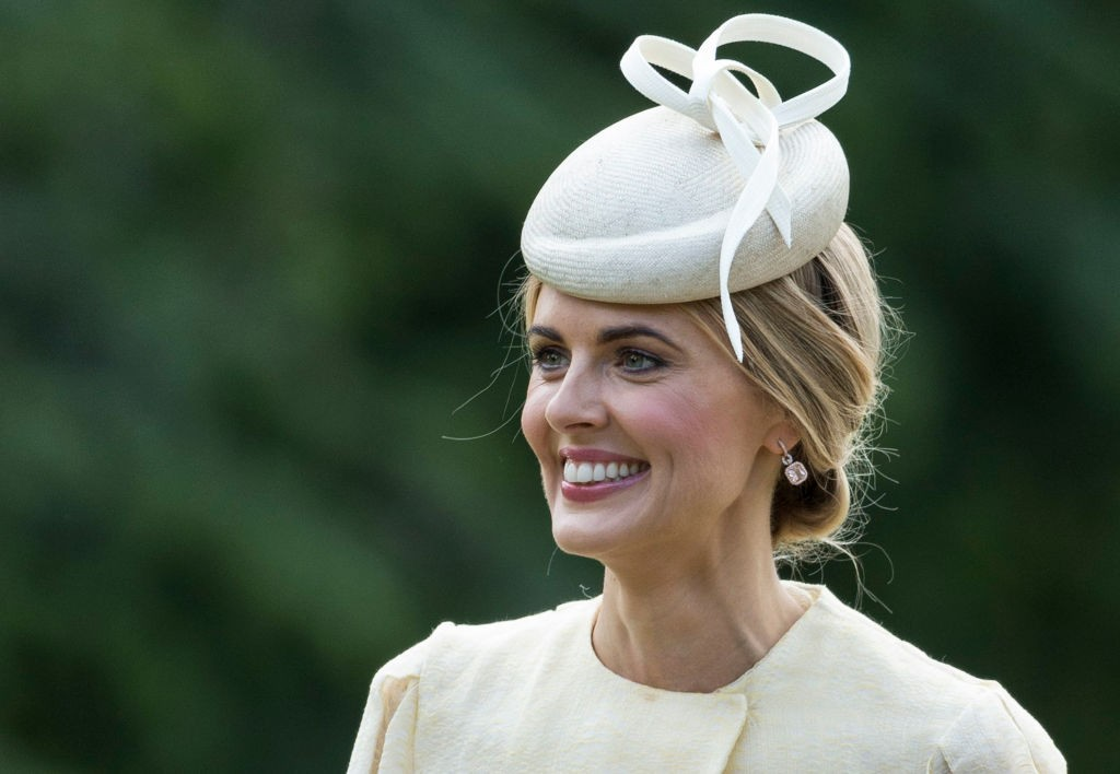 ENGLEFIELD GREEN, ENGLAND - MAY 20:  Donna Air attends the wedding of Pippa Middleton and James Matthews at St Mark's Church on May 20, 2017 in Englefield Green, England.  (Photo by UK Press Pool/UK Press via Getty Images, BA)