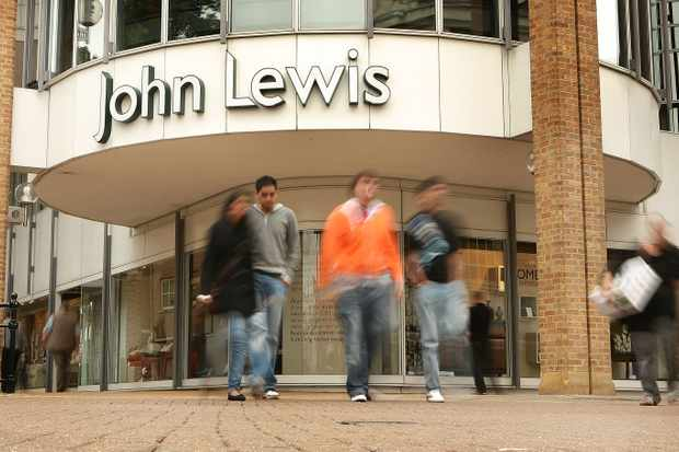 John Lewis shop. Getty Images, TG