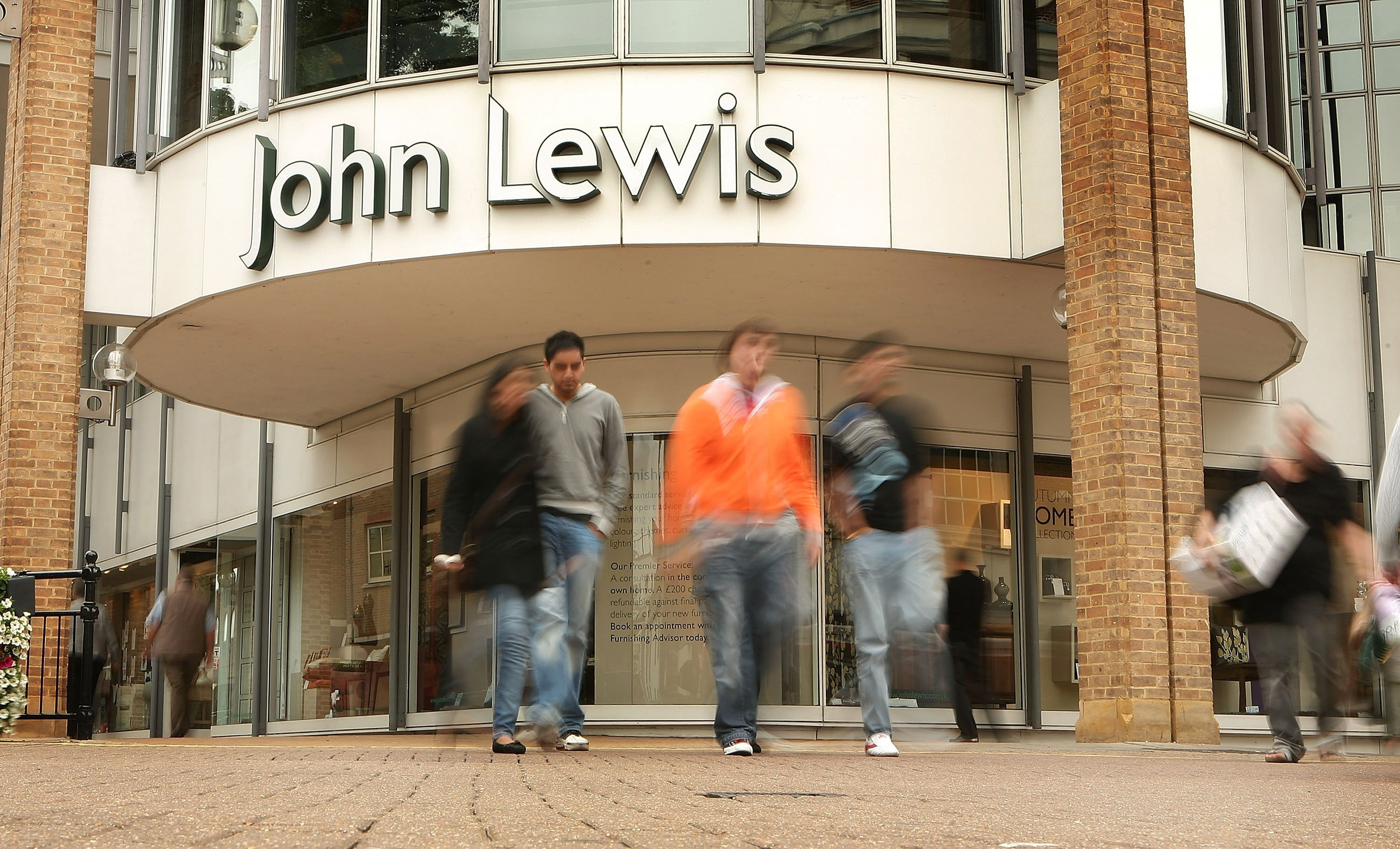 John Lewis shop. Getty Images, TG