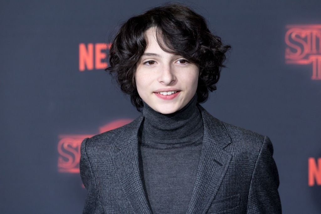 "LOS ANGELES, CA - OCTOBER 26:  Actor Finn Wolfhard attends the Premiere Of Netflix's ""Stranger Things"" Season 2 at the Regency Bruin Theatre on October 26, 2017 in Los Angeles, California.  (Photo by Greg Doherty/Patrick McMullan via Getty Images, BA)"