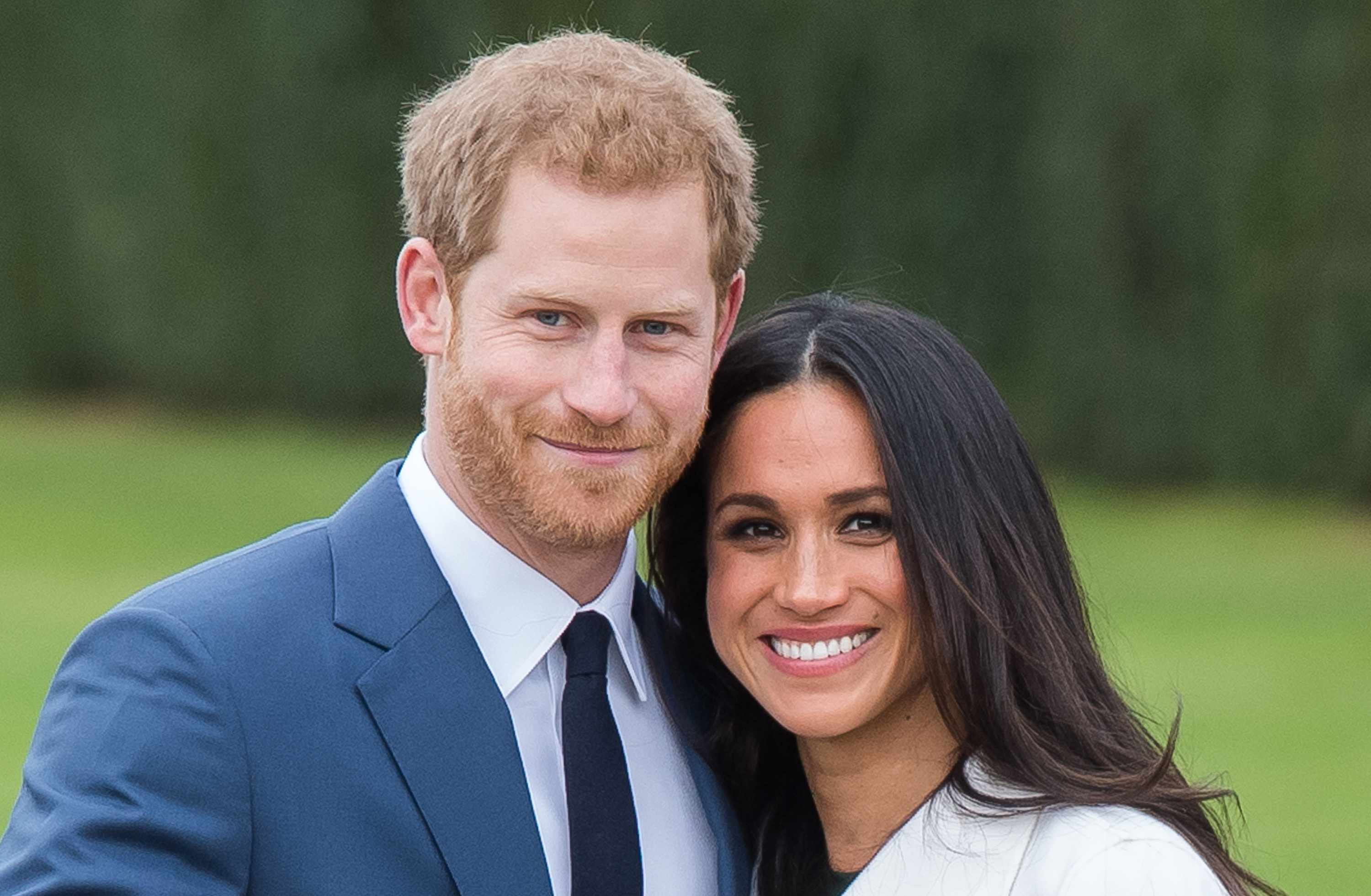 Announcement Of Prince Harry's Engagement To Meghan Markle (Getty, EH)