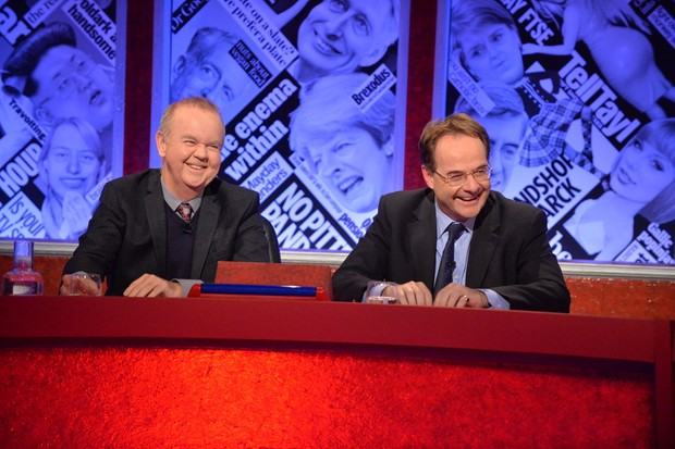Ian Hislop and Quentin Letts on HIGNFY