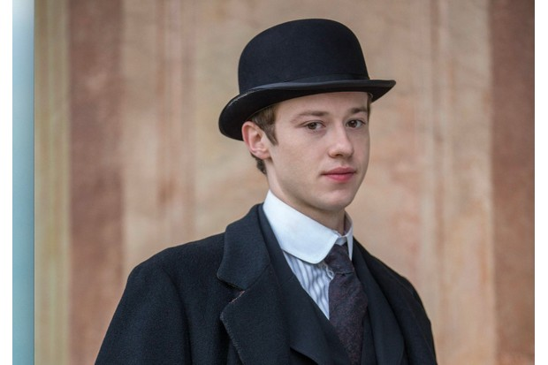Howard's End, Joseph Quinn as Leonard Bast, BBC pic publicly, BD