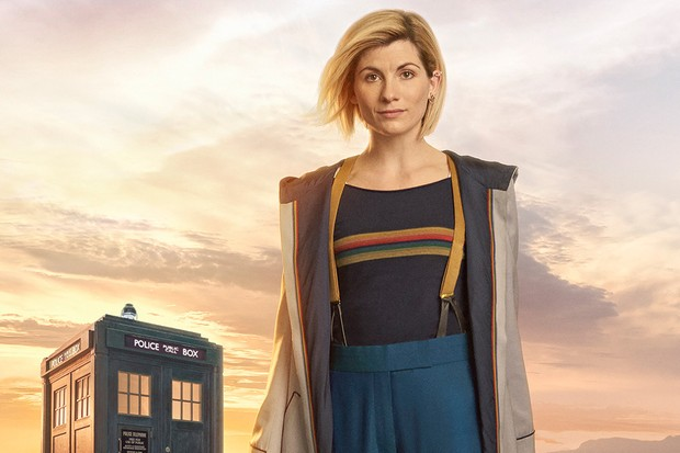 Jodie Whittaker as the 13th Doctor in Doctor Who