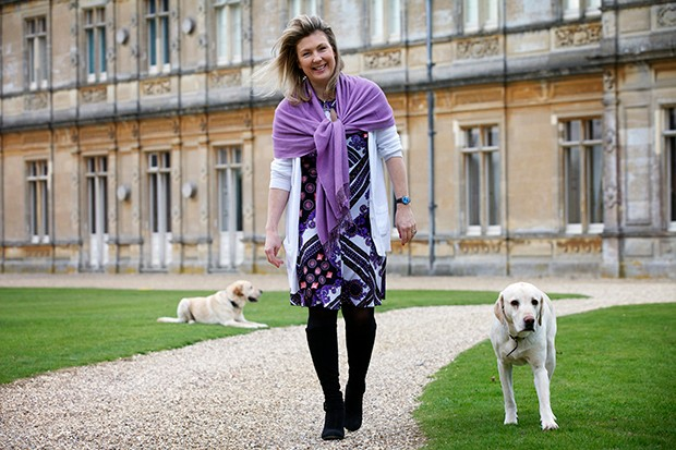 Lady Carnarvon of Highclere Castle