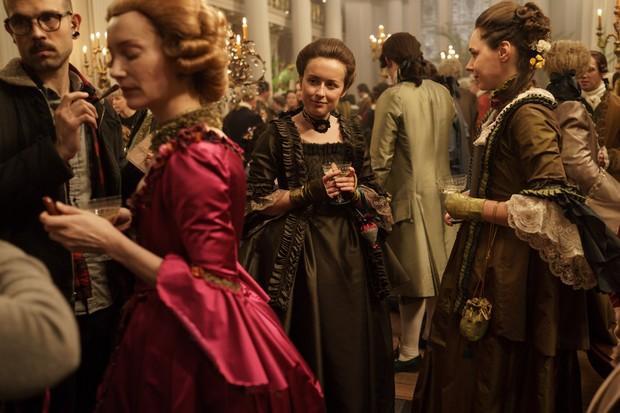 Behind the scenes on Outlander Season 3