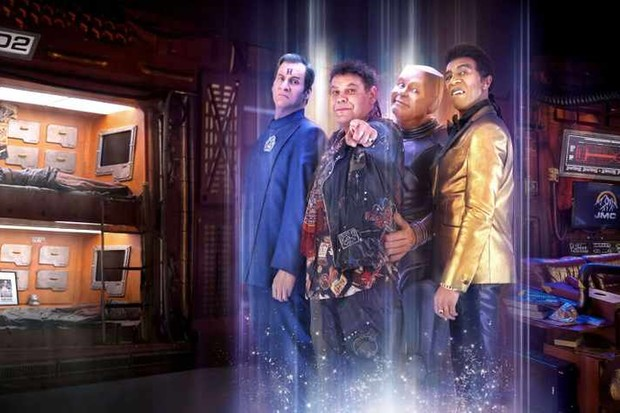 Red Dwarf 12 cast pic