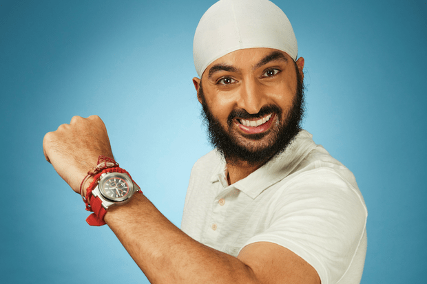 Monty Panesar on Dancing on Ice 2018