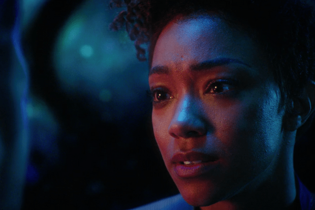 Sonequa Martin-Green as Michael Burnham in Star Trek: Discovery (Netflix, TL)