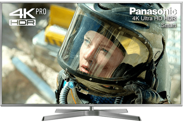 "Panasonic TX-50EX750B 50"" Freeview HD and Freesat HD and Freeview Play Smart 3D 4K Ultra HD with HDR Pro TV - Silver"