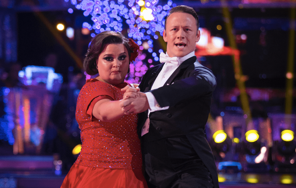 Susan Calman and Kevin Clifton