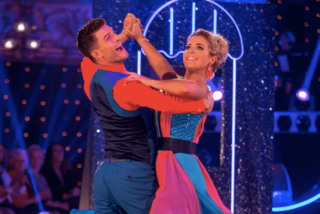 Gemma Atkinson and Aljaž Skorjanec on Strictly Come Dancing 2017
