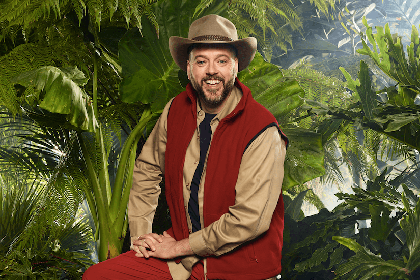 Iain Lee on I'm a Celebrity 2017