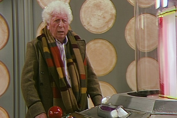 Tom Baker in the newly-completed Shada in 2017 (BBC, HF)