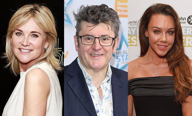 Anthea Turner, Joe Pasquale and Michelle Heaton for Channel 4's Star Boot Sale