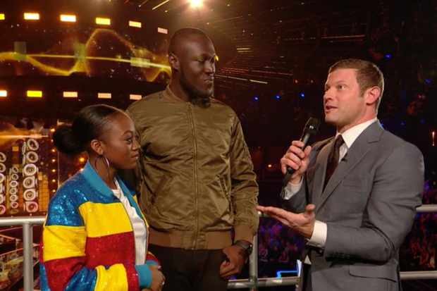 Stormzy on The X Factor 2017