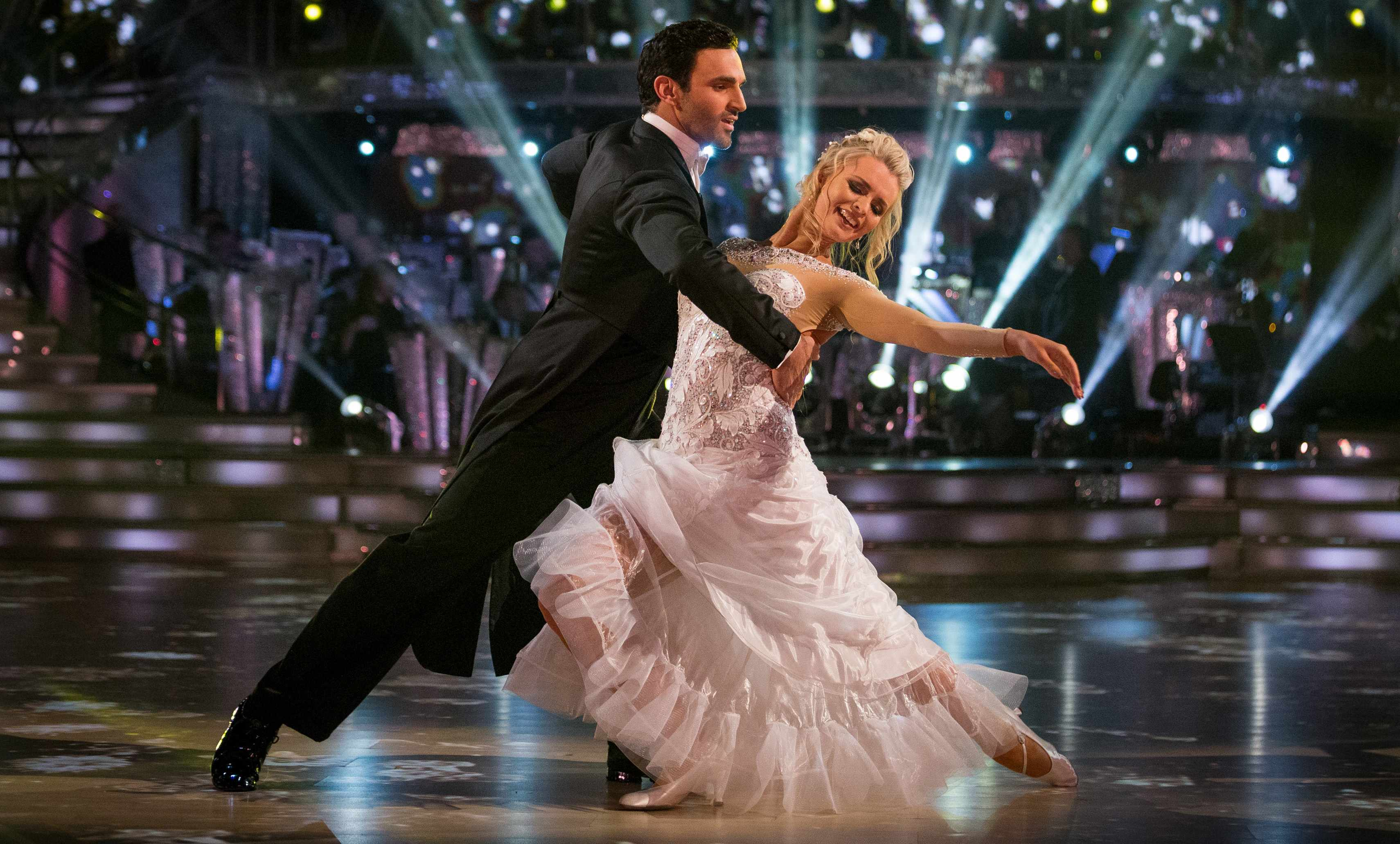Davood Ghadami and Nadiya Bychkova on Strictly Come Dancing 2017