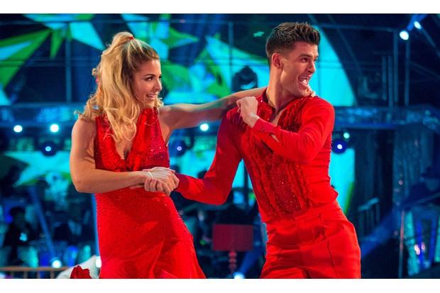 Gemma Atkinson and Aljaž Skorjanec on Strictly Come Dancing 2017