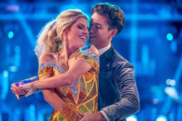 Mollie King and AJ Pritchard on Strictly Come Dancing 2017