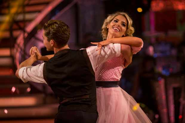 Strictly Come Dancing 2017 Mollie King and AJ Pritchard