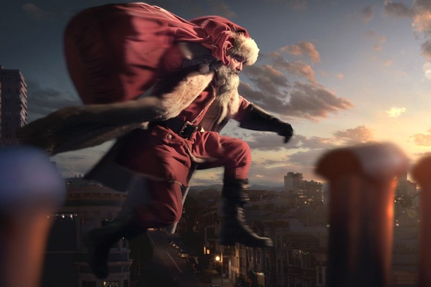 Kurt Russell stars as Santa Claus in The Christmas Chronicles (Netflix)