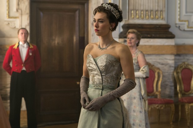 Vanessa Kirby as Margaret in The Crown