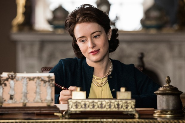 Claire Foy in The Crown season 2 (Netflix, JG)