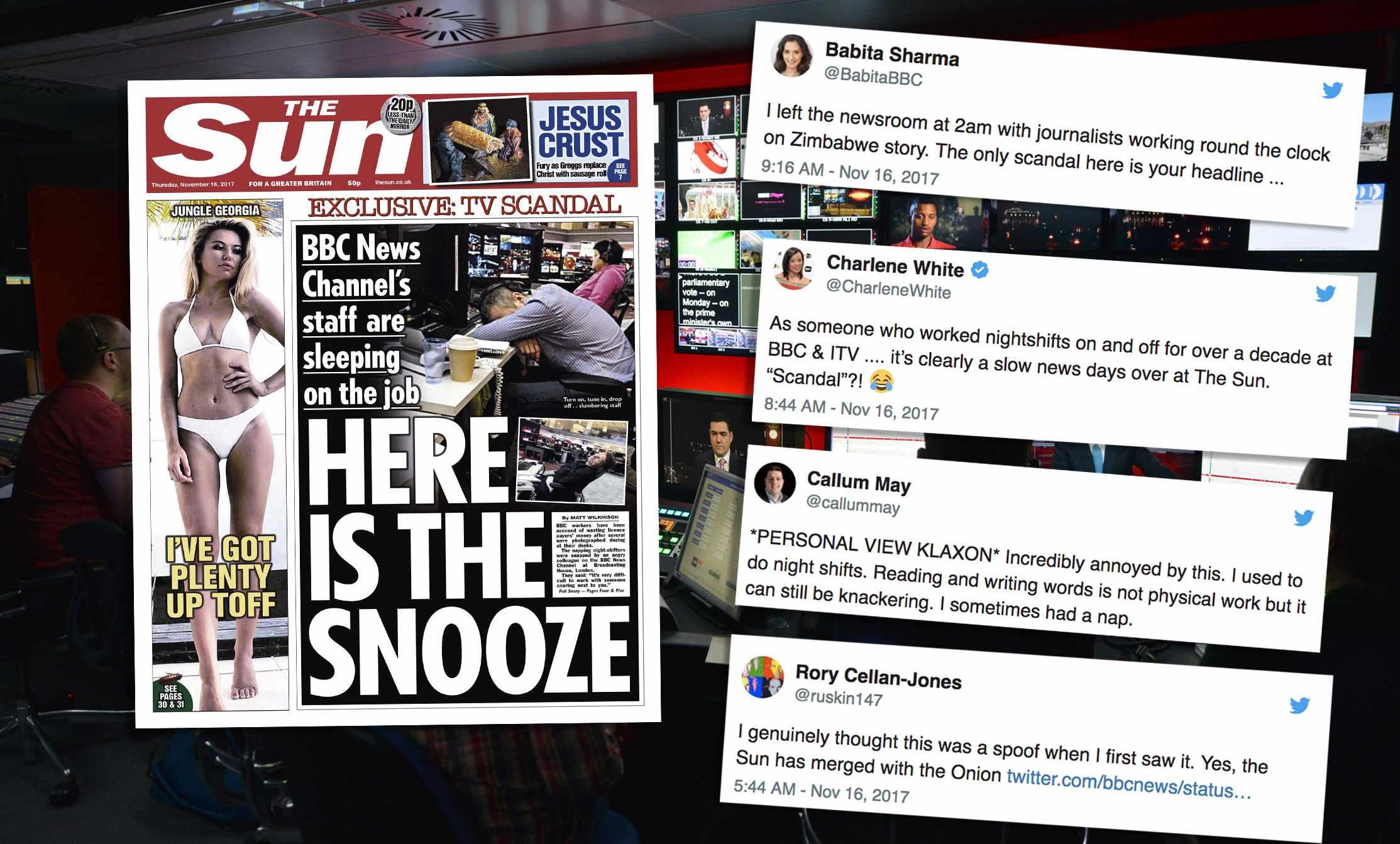 (BBC, The Sun, TL)