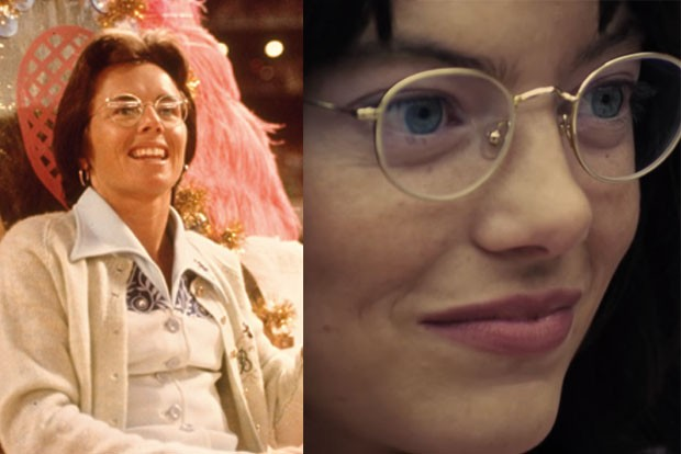 Billie Jean King/Emma Stone battle of the sexes film