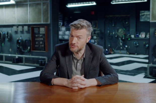 Black Mirror creator Charlie Brooker (YouTube)