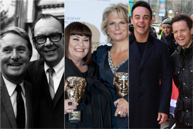 Morecambe and Wise, French and Saunders, Ant and Dec