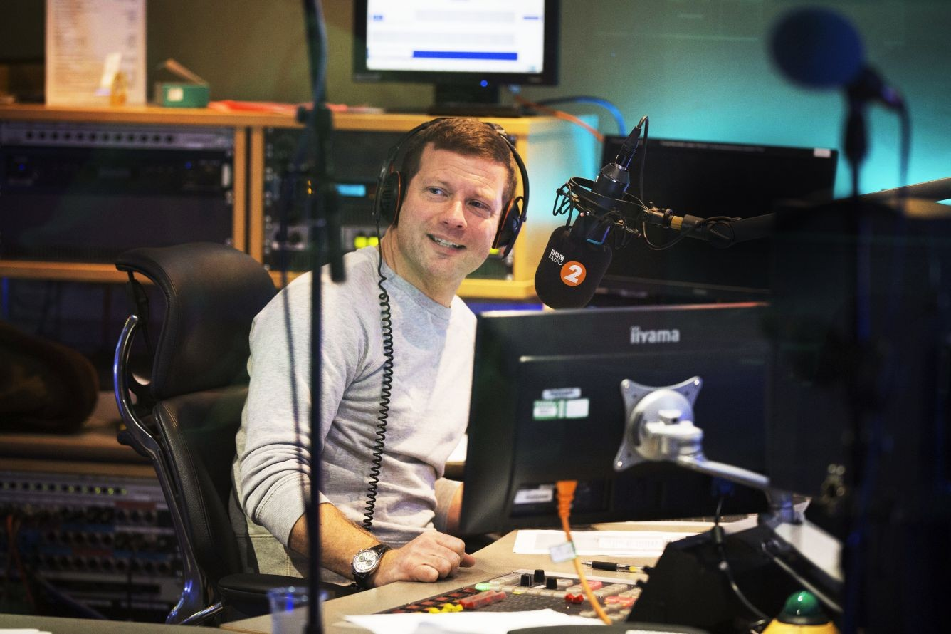 Dermot O'Leary (RT shoot, EH)