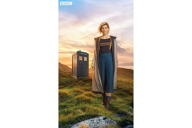Doctor Who Jodie Whittaker portrait full