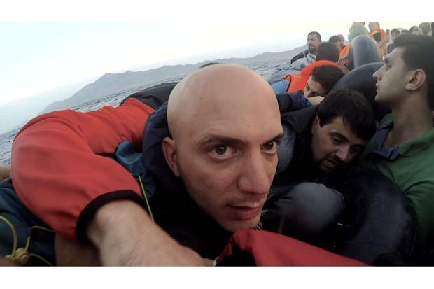 Hassan Akkad in Exodus (BBC, EH)