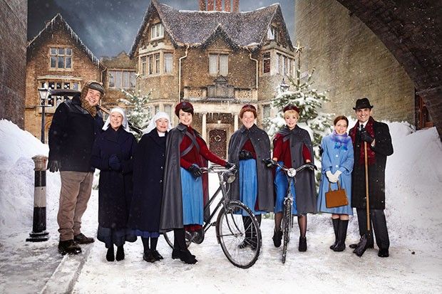 Call the Midwife Christmas special, BBC Pictures, SL