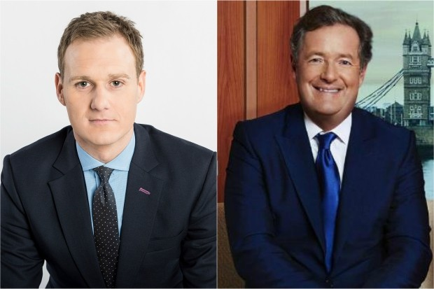 Piers Morgan and Dan Walker