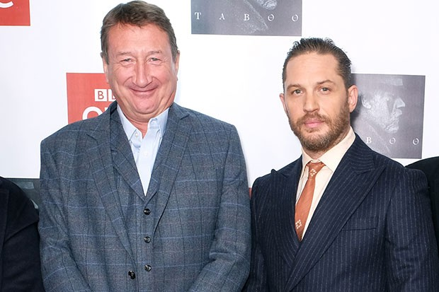 Steven Knight and Tom Hardy, Getty, SL