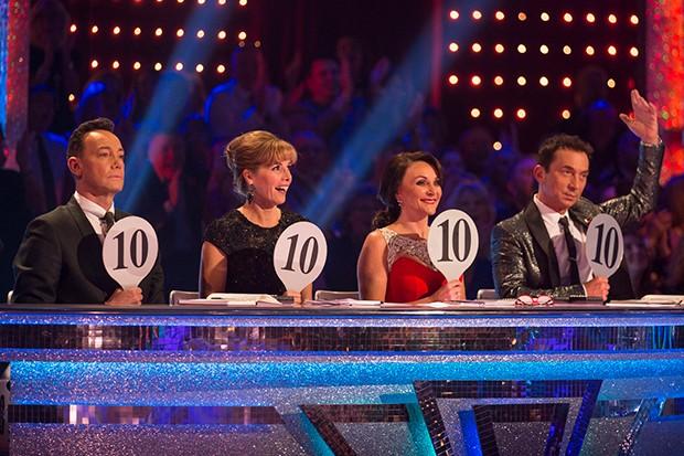 Strictly judges Craig Revel Horwood, Darcey Bussell, Shirley Ballas, Bruno Tonioli (BBC)