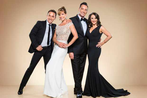 Bruno Tonioli, Darcey Bussell, Craig Revel Horwood, Shirley Ballas - Strictly Come Dancing 2017 (BBC, TL)