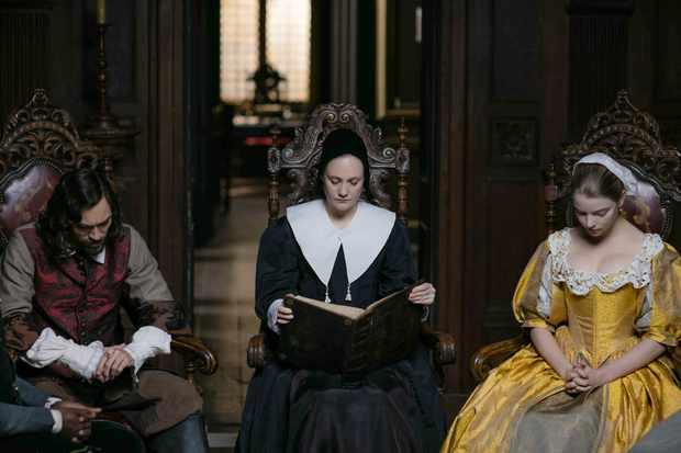 The Miniaturist - Johannes Brandt (Alex Hassell), Marin Brandt (Romola Garai) and Nella Brandt (Anya Taylor Joy)
