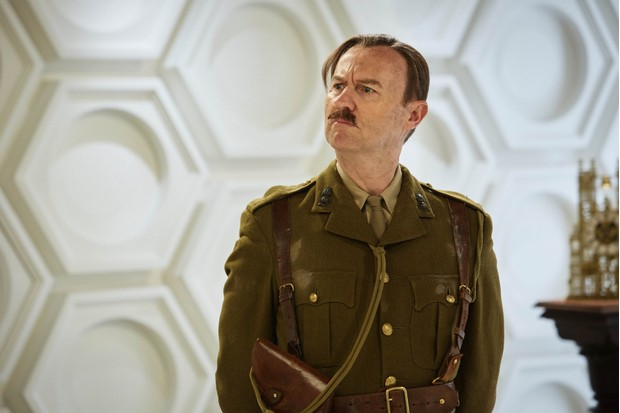 Mark Gatiss in the Doctor Who Christmas special 2017