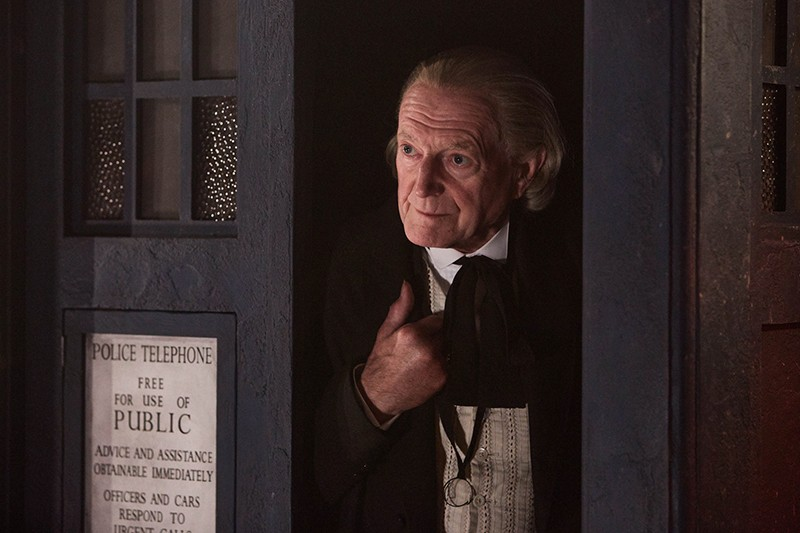 David Bradley as the First Doctor in Twice Upon a Time (BBC, HF)