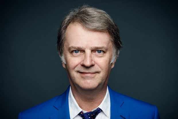 WARNING: Embargoed for publication until 20:00:01 on 22/11/2017 - Programme Name: Just A Minute - 50th Anniversary - TX: n/a - Episode: Just A Minute - 50th Anniversary (No. 1) - Picture Shows:  Paul Merton - (C) BBC Studios - Photographer: Charlie Clift