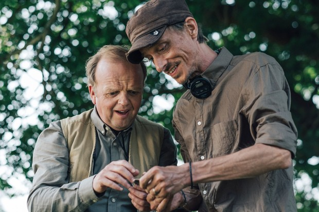 Programme Name: Detectorists series 3 - TX: n/a - Episode: n/a (No. n/a) - Picture Shows: Lance (TOBY JONES), Andy (MACKENZIE CROOK) - (C) Channel X - Photographer: Chris HarrisBBC, TL