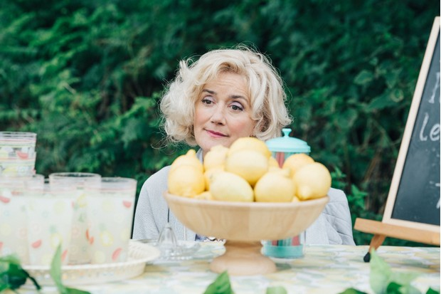 Programme Name: Detectorists series 3 - TX: n/a - Episode: n/a (No. n/a) - Picture Shows: Sheila (SOPHIE THOMPSON) - (C) Channel X - Photographer: Chris Harris