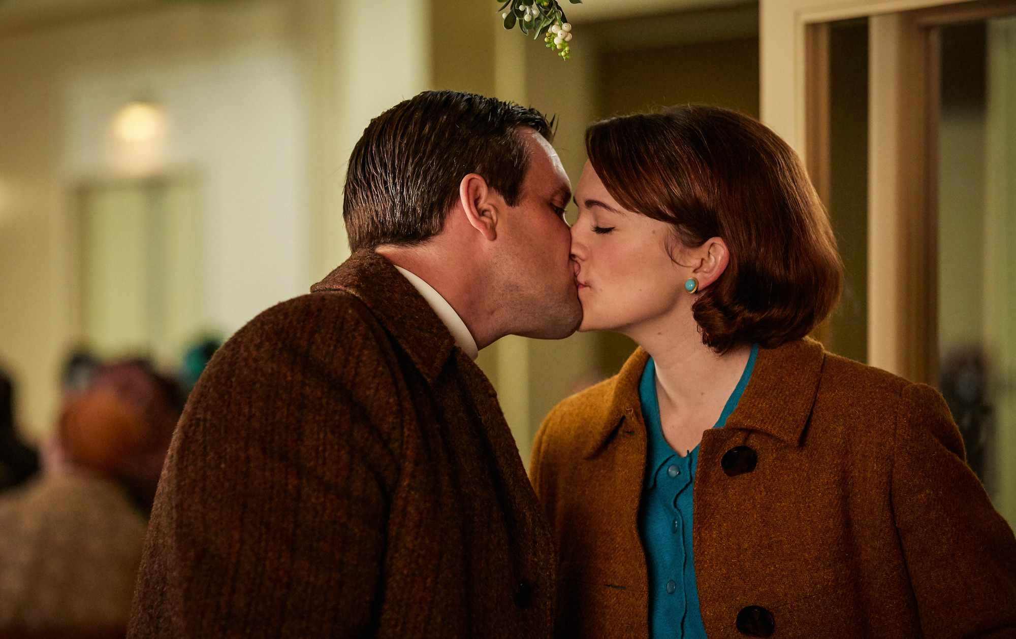 Barbara and Tom in Call the Midwife