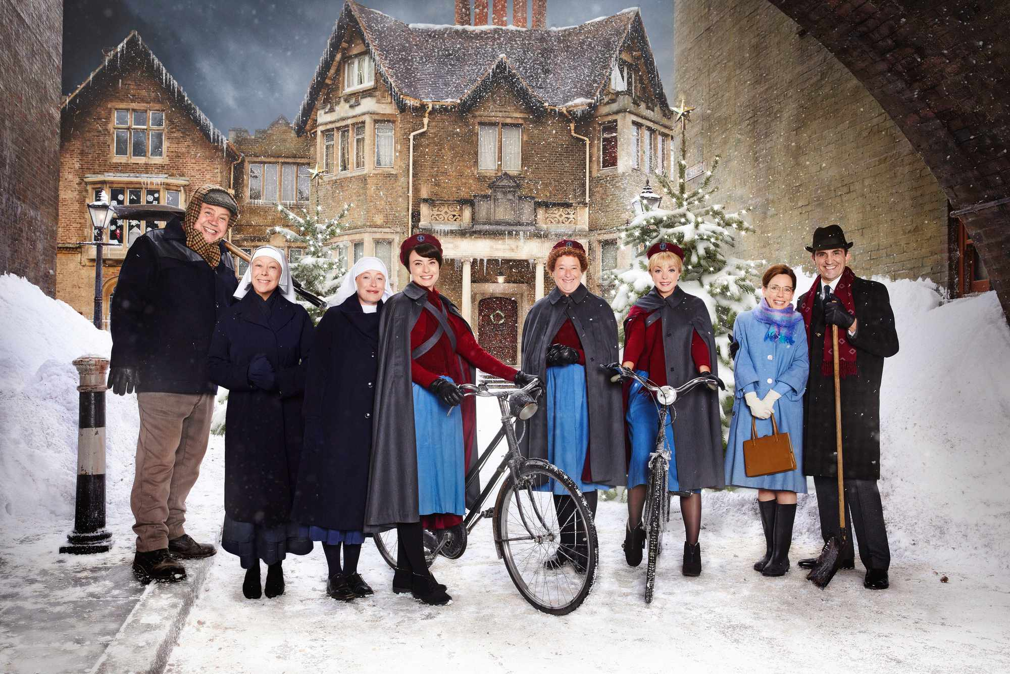 Call the Midwife BBC Christmas 2017