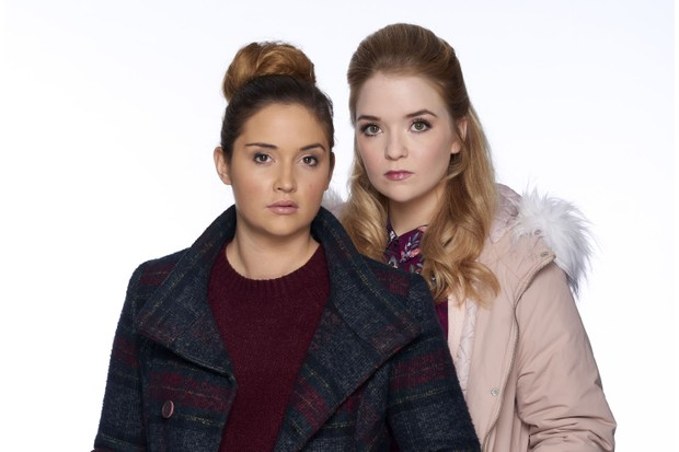 WARNING: Embargoed for publication until 00:00:01 on 09/12/2017 - Programme Name: EastEnders - Portraits 2017 - TX: n/a - Episode: EastEnders - Lauren & Abi (No. n/a) - Picture Shows: *STRICTLY NOT FOR PUBLICATION UNTIL 00:01HRS SATURDAY 9th DECEMBER 2017* Lauren Branning (JACQUELINE JOSSA), Abi Branning (LORNA FITZGERALD) - (C) BBC - Photographer: Dan Goldsmith