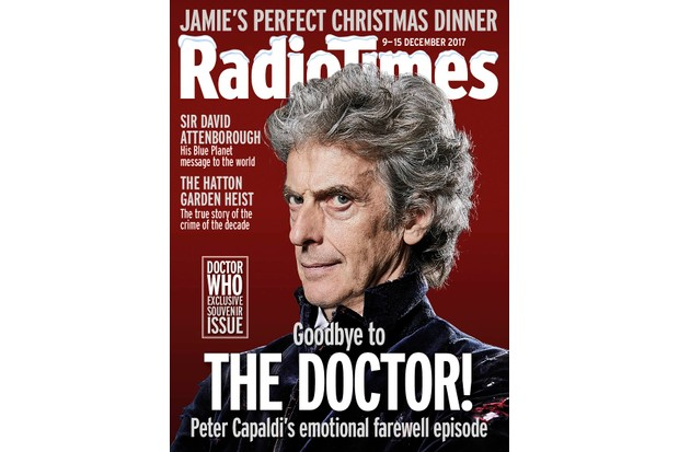 Radio Times Doctor Who cover week 50 2017